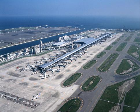 kansai international airport New kansai international airport company, ltd, as part of its smart island project, is working to utilize clean energy sources, including solar energy and hydrogen to realize an environmentally advanced airport.