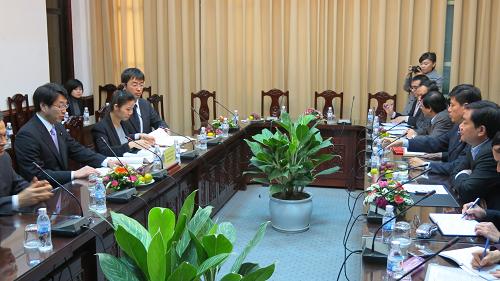 【平成26年3月8日】 中原国土交通政務官のベトナム出張(報告)