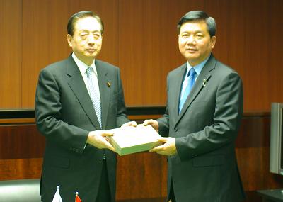 フォトギャラリー:太田大臣 ベトナム交通運輸大臣の表敬訪問 - 国土交通省
