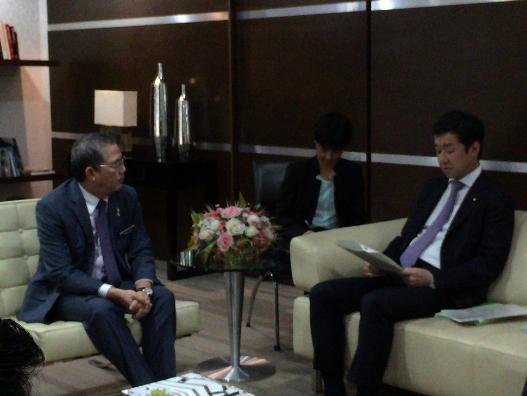 田中良生国土交通副大臣のマレーシア出張の結果概要