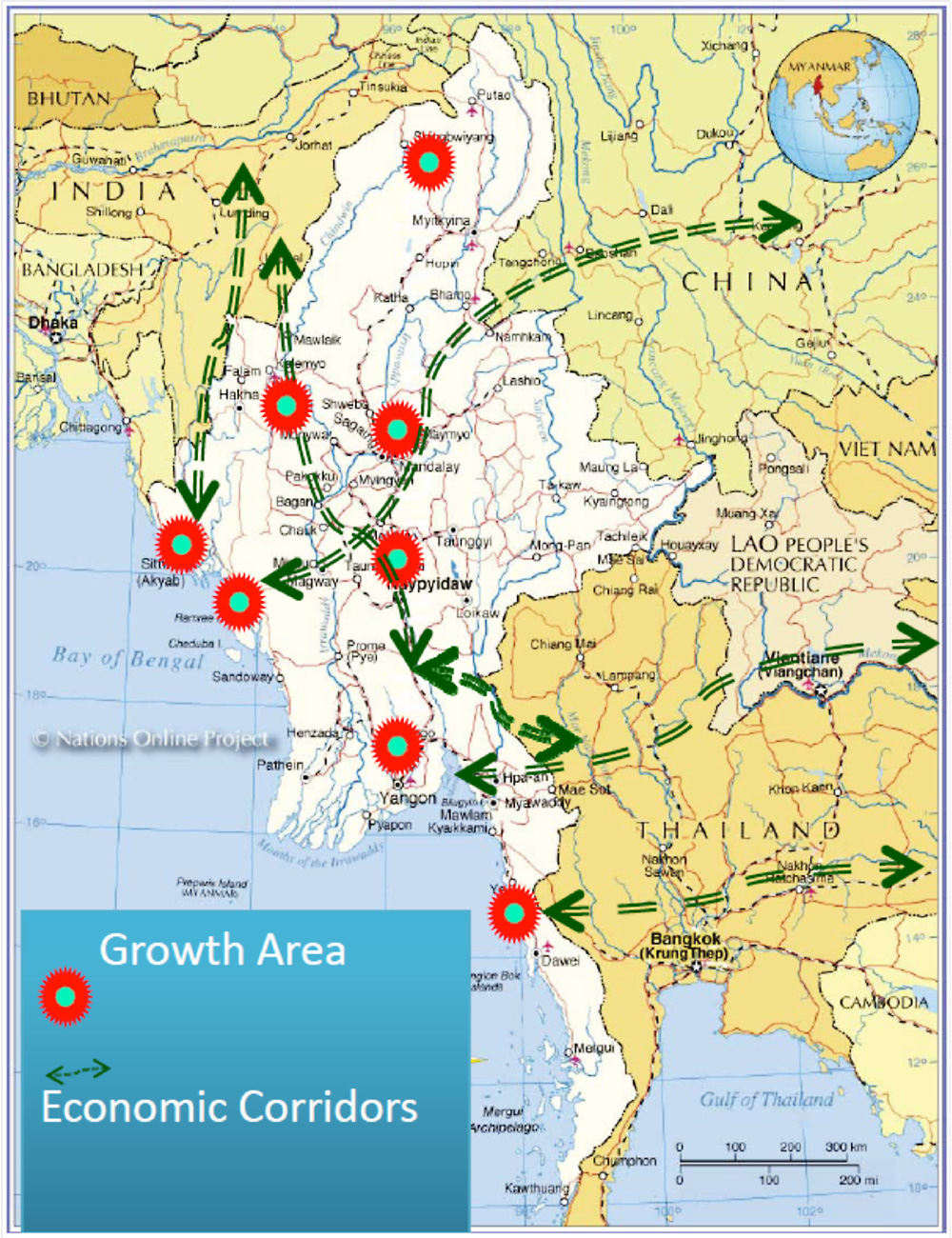 Overview of Spatial Policy in Myanmar