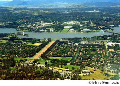 キャンベラ(オーストラリア) - 国会等の移転ホームページ - 国土交通省