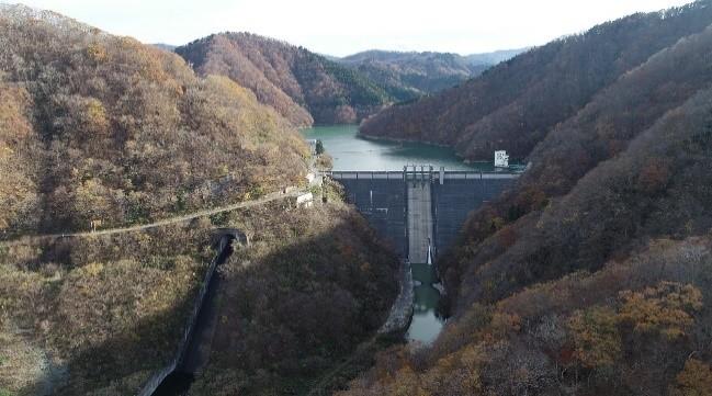 """笹生川ダム ~""""奥越の重鎮""""笹生川ダム~"""