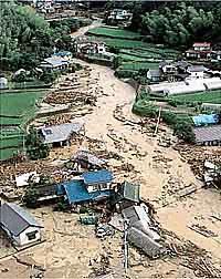 1999年に発生した全国の被害