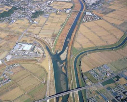 菊川 氾濫