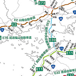道路 地図 高速